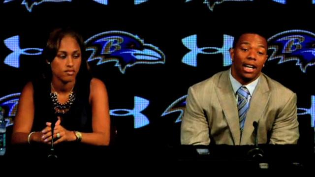 Ray Rice -- I'M SO SORRY ... Wife: I'm Sorry Too