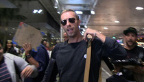 Chris Martin Avoids Gwyneth Paltrow Questions ... In the Nicest Way Possible