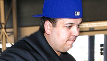 Rob Kardashian -- Bails on Kimye Wedding After Major Family Clash