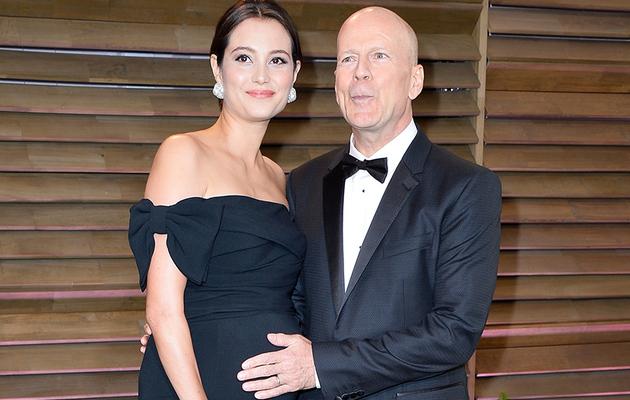 Bruce Willis Posts Breastfeeding Photo of Wife & New Baby