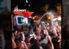 Johnny Manziel -- CHAMPAGNE RAINSTORM ... In Vegas Nightclub