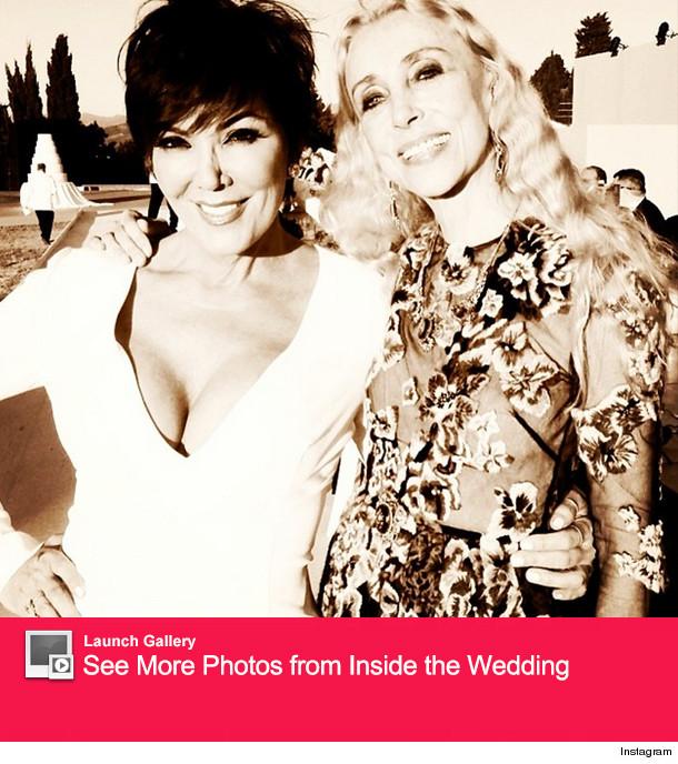 Kris Jenner Kim Kardashian Wedding
