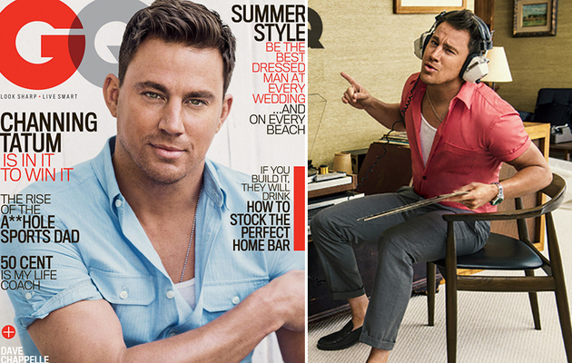 Channing Tatum Kicked in a Store Window ... With Shia LaBeouf!?