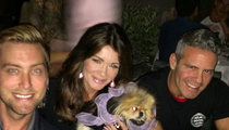 Lisa Vanderpump -- On Brink of Quitting 'Real Housewives' ... Andy Cohen to the Rescue