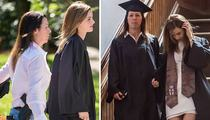 Emma Watson's Graduation -- Cap? Check. Gown? Check. Armed Guard? CHECK!!!