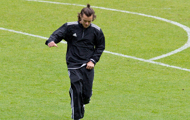 Harry Styles Pulls Down Piers Morgan's Pants at Charity Soccer Game
