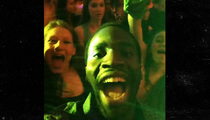 Prince Amukamara -- I Wasn't the Only Giant ... at NYC Bar Mitzvah Bash!