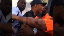 T.I. -- Shoving Match at Vegas Pool Party ... Hours Before Mayweather Brawl [VIDEO]