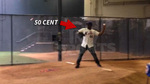 50 Cent -- THREW STRIKES ... Before Disastrous Opening Pitch