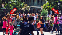 Heidi Klum & Seal at Disneyland -- Happiest Place on Earth for Everyone But Exes