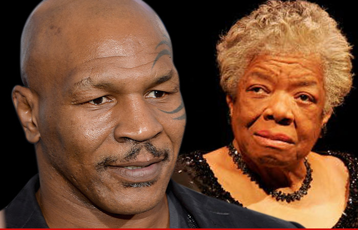 Mike Tyson Maya Angelou Death