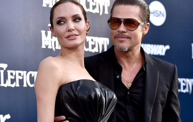 "Brad & Angelina's Kids Join Them at ""Maleficent"" Premiere in L.A."