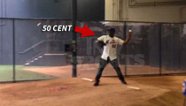 50 Cent Threw STRIKES ... Before Disastrous First Pitch