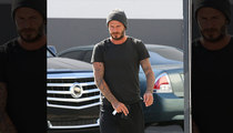 David Beckham -- Say Hello to My Little Friend [PHOTO]