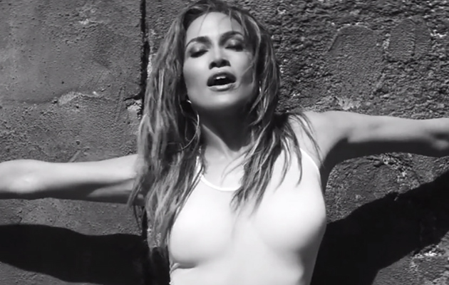 "Jennifer Lopez Flaunts Killer Curves (and That Booty) in ""First Love"" Music Video"