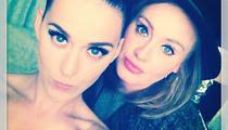 Adele Stuns in Sexy Selfie with Katy Perry!