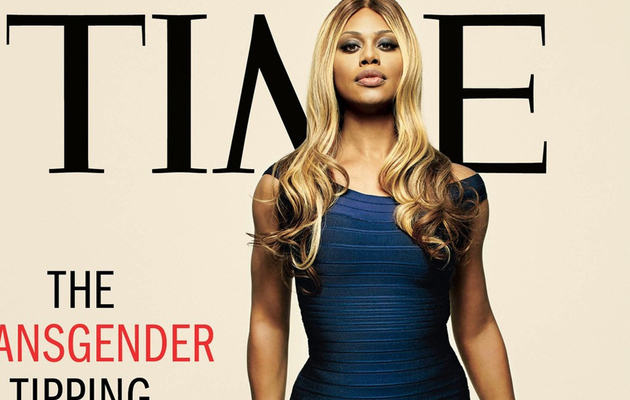 """OITNB"" Star Laverne Cox Covers Time Magazine, Talks About Being A Transgender"