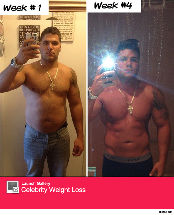 """""""Jersey Shore"""" Star Ronnie Magro Shows Off Body ..."""
