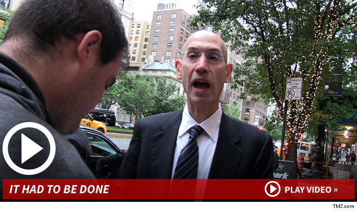 Adam Silver Donald Sterling NBA Ban