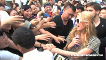 Paris Hilton Mobbed By Fans in China -- Shanghai & Mighty