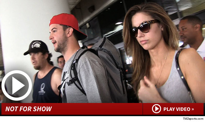 Katherine Webb and AJ McCarron Wedding
