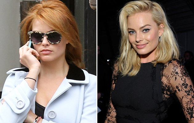 Margot Robbie Shows Off Red New 'Do -- Like The Look?