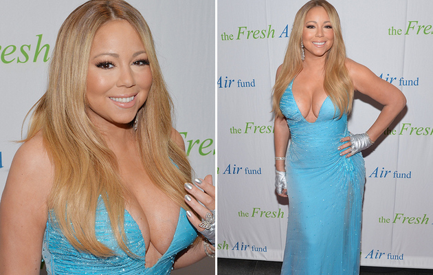 Mariah Carey's Cleavage is Out of Control -- See Her Latest Boob-Baring Dress