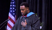 Ex-NFL Player Leigh Bodden's High School Commencement Speech -- STANDING OVATION