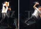Luke Bryan Falls Off Stage -- Country Star Busts Ass, Cuts Leg [VIDEO]