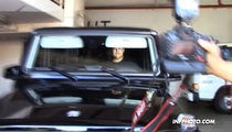 Rob Kardashian Nearly Runs Over Paps Leaving the Gym