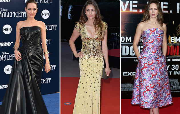 Angelina, Nina & More -- See This Week's Best Dressed Stars!