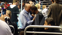 L.A. Clippers Bonding -- Chris Paul Hugs It Out With New Owner ... At Kings Game