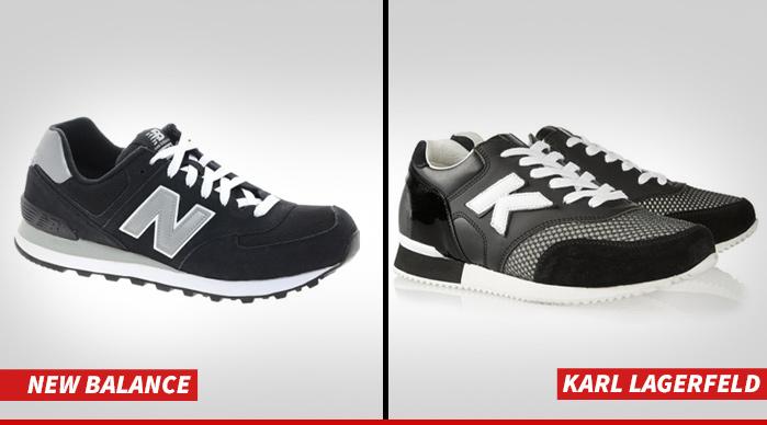 New Balance Suing Karl Lagerfeld