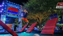 Dallas Cowboys -- 'Male Cheerleader' Dominates 'American Ninja Warrior'