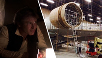 Star Wars Photos -- Good News, Han Solo ... The Falcon's Back!