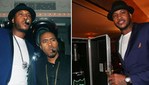 Carmelo Anthony -- SNEAKER ENVY ... At Wild 30th Bday Party