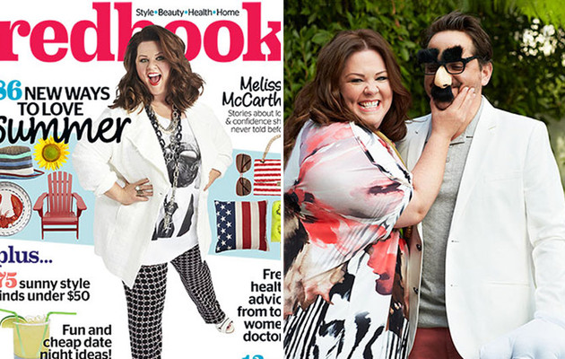 Melissa McCarthy Talks New Plus Size Clothing Line & Happy Marriage With Ben Falcone