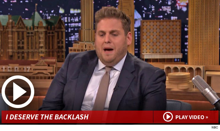 Jonah Hill Apology Tonight Show