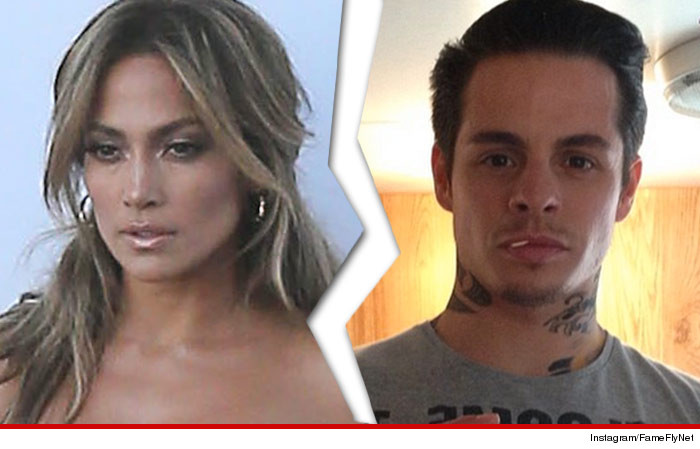 Jennifer Lopez Break Up