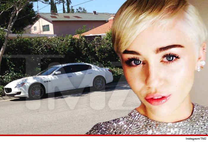 Miley Cyrus Stolen Car