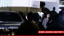 Kobe Bryant -- STEAK DINNER WITH Michael Jordan ... In Bev Hills