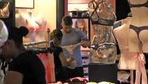 Soccer Star Sergio Ramos -- TEAM PANTY SHOPPING ... At Victoria's Secret