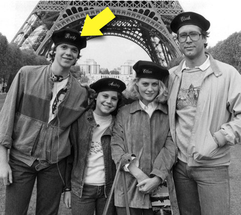 "Jason Lively is best known for playing the beret-hating Rusty Griswald in the 1985 lampoon's comedy ""European Vacation."""