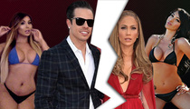 Jennifer Lopez Break-Up -- Casper Smart's Free to Go On a T&A Safari