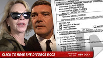 Melanie Griffith and Antonio Banderas Divorcing