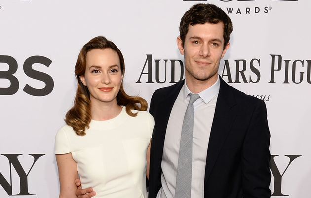 Leighton Meester & Adam Brody Make First Appearance as Married Couple at Tony Awards