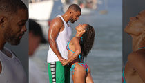 Will Smith & Jada Pinkett Smith -- Guns n' Buns On The Beach