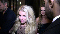 Jessica Simpson -- These Boots Are Made for Stumblin' ... Mom's Drunk Night Out