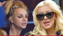 Britney Spears & Christina Aguilera -- Names Immortalized in Cocaine Bust