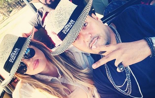 Khloe Kardashian and French Montana Take African Safari -- See the Fun Pics!